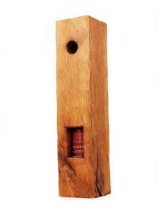 Elvados im Holzbalken eingearbeitet