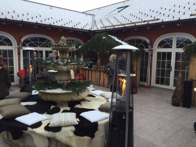 Weihnachtsmarkt Hotel Villino 2015 8 Terasse